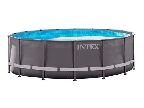Pileta estructural INTEX Redonda 488X122cm +Bomba+Accesorios 23857/9