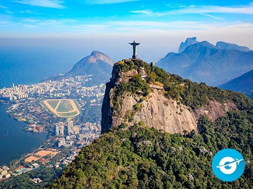 Vuelo a Río de Janeiro en oferta. Pasaje Aéreo barato a Brasil.