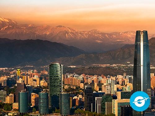 Vuelo a Santiago de Chile en oferta. Pasaje Aéreo barato a Chile