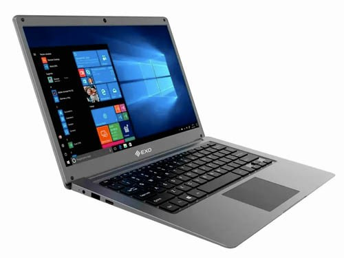 "Notebook 14"" Full HD Intel Celeron 4GB + 500GB + 64GB SSD Win 10 EXO"