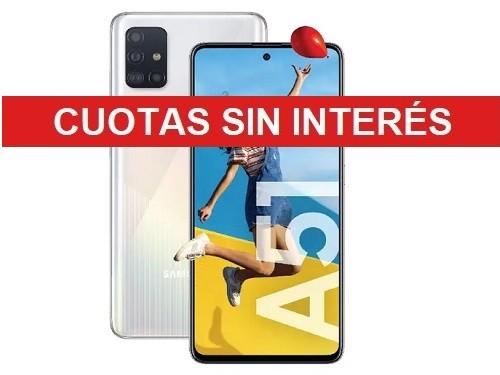 Celular Samsung A51 Sm-A515fzk Blanco