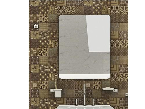 Espejo Blanco Shape 60