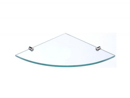 Estante Con Esquinero De Vidrio Incoloro