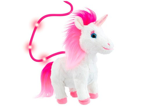 Animagic Destiny Unicornio Con Correa Camina Shine 31279