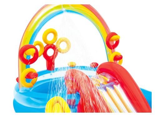 Play Center Intex Rainbow 227 Lt 19620/0