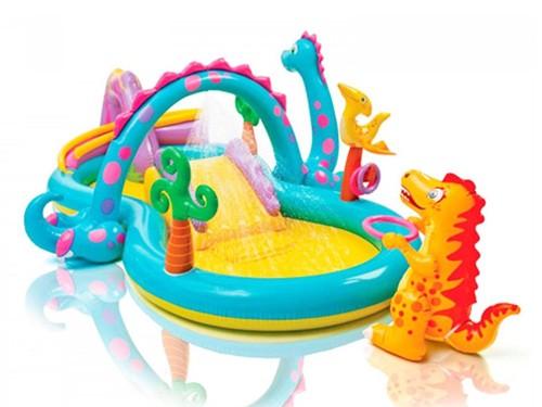 Play Center Inflable Intex Dinoland 23258/4