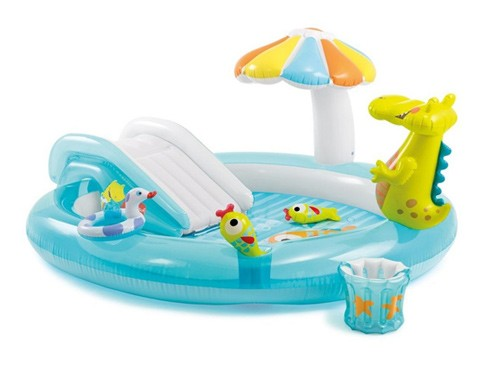 Play Center Inflable Intex Gator 180lt 23255/7