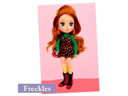 Muñeca Freckles & Friends 51260 Shine