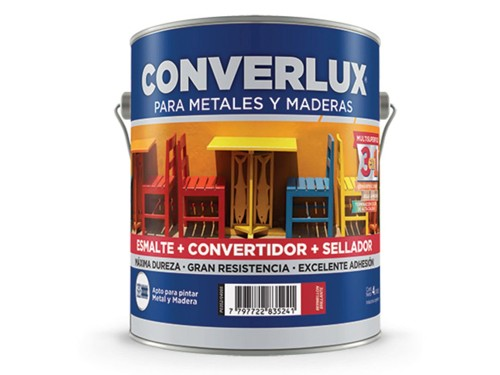 Esmalte Sintético Convertidor Converlux Petrilac Blanco 4 Lts