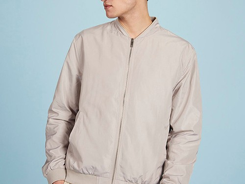 Campera New York, de Hombre, estilo Bomber Lisa, calce Regular, Equus
