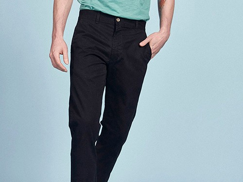 Pantalón chino Praga, de Hombre, Calce Classic Fit, Gabardina, Equus