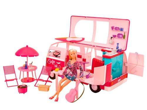 Muñeca Steffi Camioneta Hawaii Camper 105739423