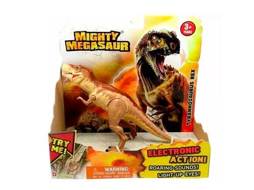 Dinosaurio Mighty Megasaur T-rex C/luz Y Sonido 16896