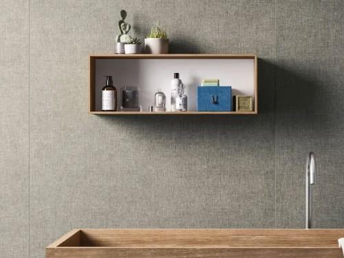 Porcelanato 120x120 gris roca textil cemento (m²)