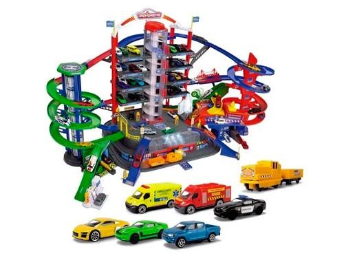Majorette Ciudad Garage Con 7 niveles Luz Y Sonido 212059989