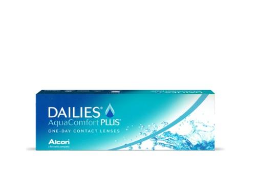 Lentes de contacto diarios Dailies AquaComfort Plus para miopía