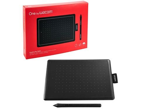 Tableta Gráfica Wacom One Small Black/red Tl472