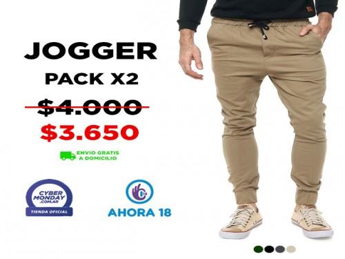 Jogger Hombre Pack X2 VINSON