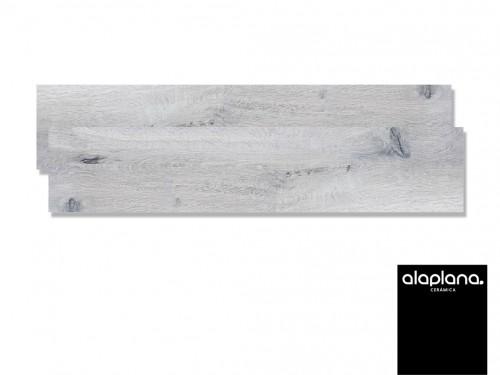 Porcelanato Alaplana Tatooine Simil Madera gris 22x208 (m²)