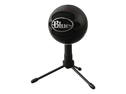 Micrófono Blue Snowball Series Snowball Ice Cardioide Negro