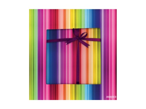 Bobina Papel De Regalo Muresco - 60cm X 200mt Multicolor