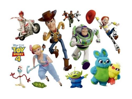 Wallsticker Vinilo Autoadhesivo Para Pared Toy Story