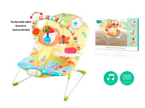 Sillita Mecedora Animalitos Con Música Y Vibración 1426454