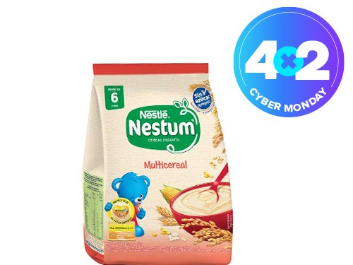 Multicereal Nestum sin azúcar x 125 ml