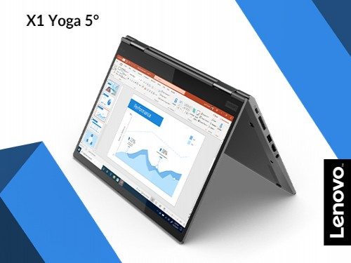 "Laptop Lenovo Intel i7 8gb 256GB SSD ThinkPad X1 Yoga 5° 14"" FHD Grey"