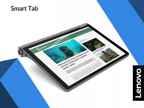 "Tablet Lenovo Yoga Smart Tab 4gb 64GB Android 10.1"" FHD Iron Grey"