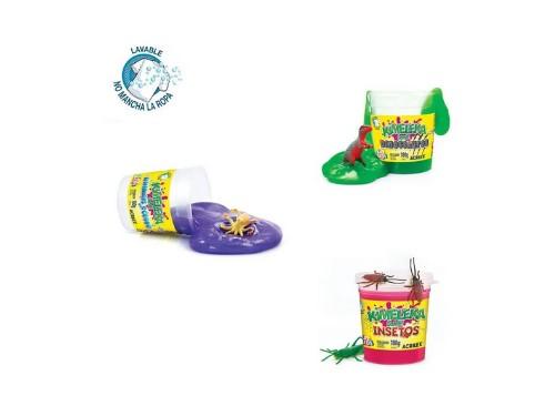 Kit Para Jugar Con Slime Acrilex Con Animales Coleccionables