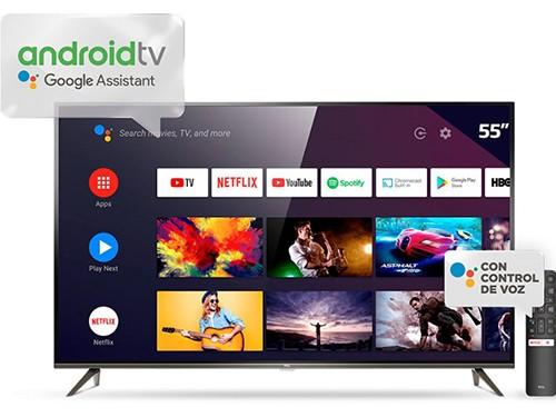 """Smart Tv 55"""" 4K Ultra HD L55P8M TCL"""