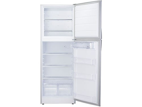 Heladera Con Freezer PATRICK de 394 Litros Con Dispenser Color Plata
