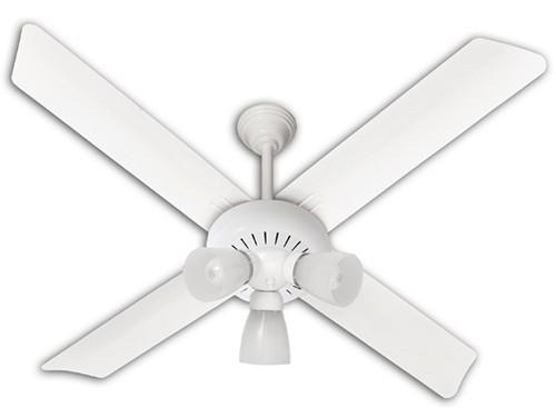 Ventilador De Techo VTA420 Blanco 80W Con Luz SEVERBON
