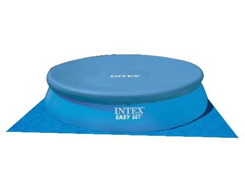 Pileta Inflable Redonda de Lona de 14141 Litros INTEX