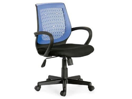 Sillón de oficina y Gamer Respaldo Ergonómico Azul