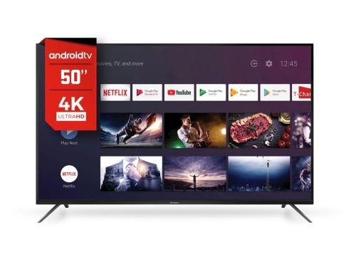 "SMART TV 50"" HITACHI 4K Q.CORE ANDR C/VO CDH-LE50"