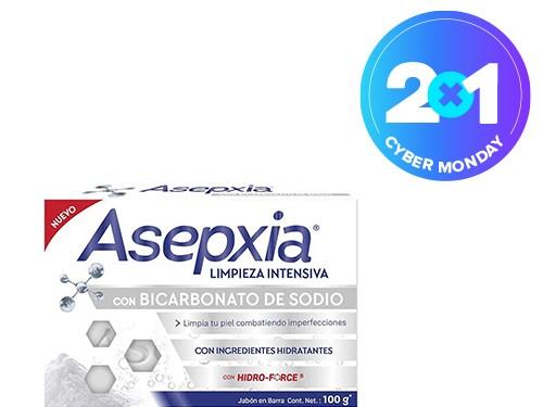 Jabón Asepxia Bicarbonato 100 gr