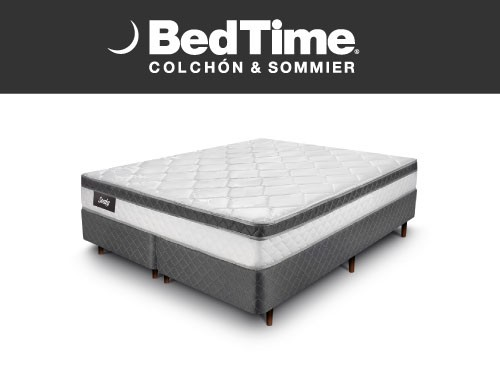 Sommier y Colchon Vibrant Queen 180x200 Sealy