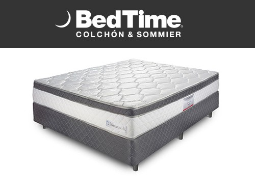 Sommier y Colchon Holiday 2 Plazas 140x190 Sealy