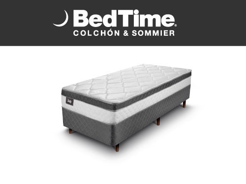 Sommier y Colchon Vibrant 1 Plaza 90X190 Sealy