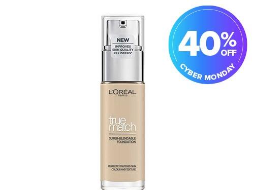 Base L'Oréal París True Match N1 Ivoire x 30 ml
