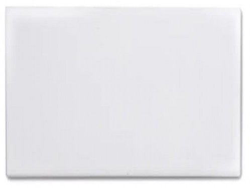 Revestimiento Blanco Brillante Liso 7,5x15 Cm.