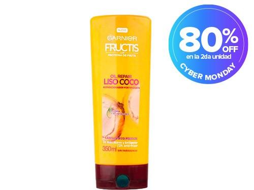 Acondiciónador Fructis Oil Repair Liso x 350 ml