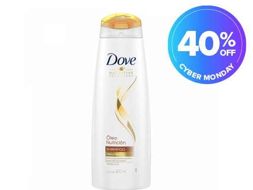 Shampoo Dove Óleo Nutrición 400 ML