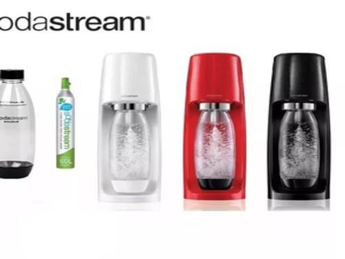 Sodastream Fizzi Maquina Para Hacer Soda + Botella + Co2