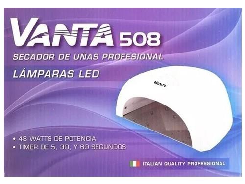 Combo Cabina Led Vanta 508 + 6 esmaltes Heburn Semipermanentes