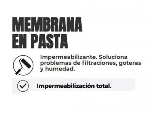 Membrana En Pasta 25 Kg Polacrin 20 Lts Liquida Colores