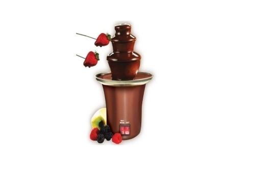 Fuente Cascada De Chocolate Eventos Fondue 3 Niveles Suzika Cas054