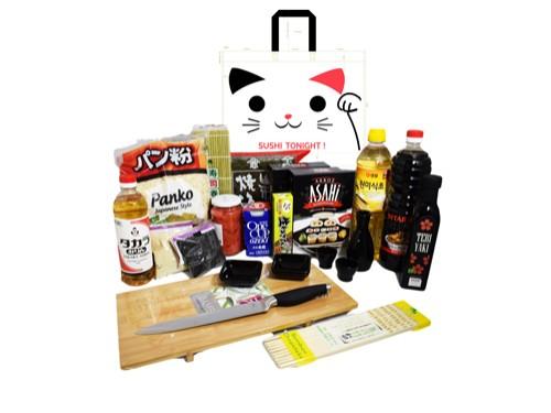 Kit para Sushiman + Alga + Arroz + Salsa + Wasabi + 23 Productos